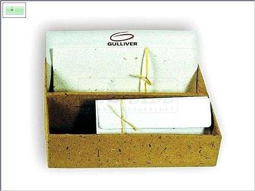 kit correspondencia em papel artesanal