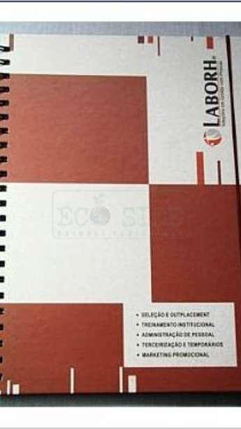 Caderno Capa Dura formato A4
