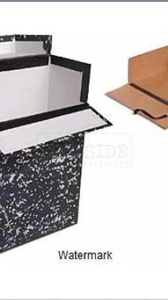 Foto: Caixa para arquivo em papel kraft
