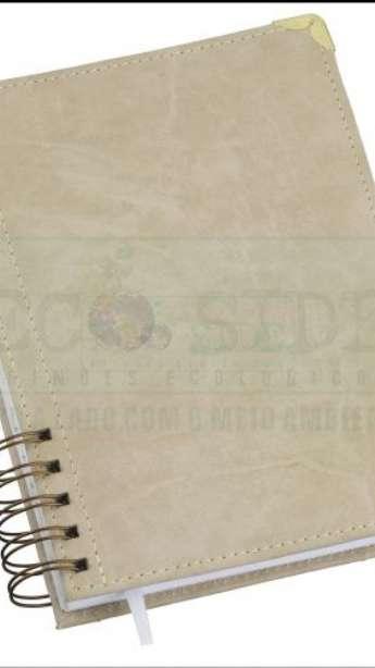 Foto Agenda reciclada Diaria Modelo Executivo