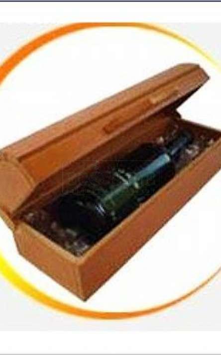 caixa modelo bau em MDF