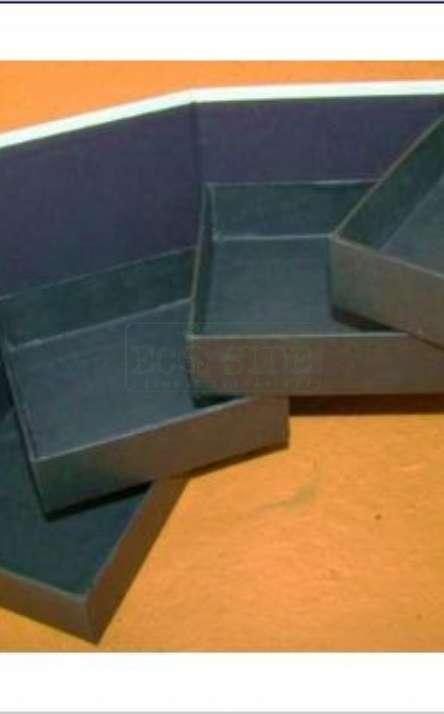 porta joias em papel artesanal