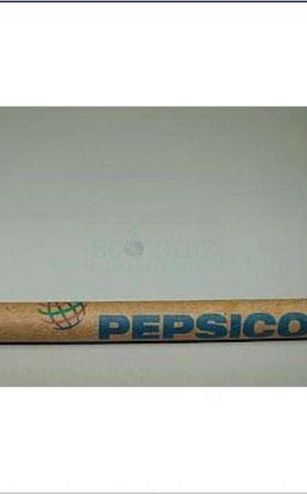 caneta em papel kraft modelo plus
