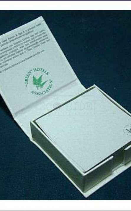 miolo em papel reciclado impressão 1 cor