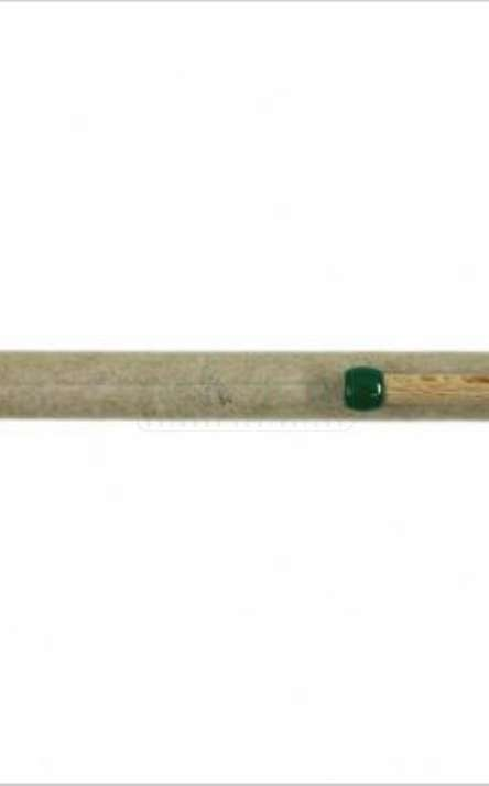 Caneta em Papel Kraft com clip de madeira