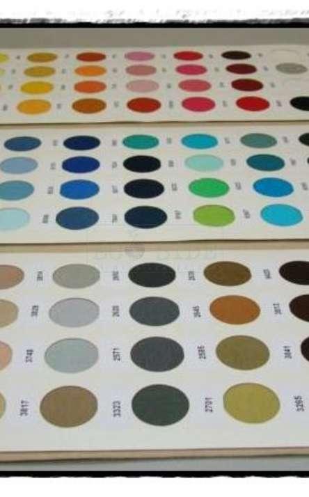 Paleta de cores de malha pet reciclada
