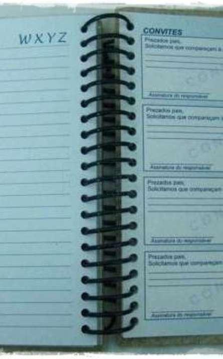 Agenda Escolar reciclada ensino fundamental - Foto: 17