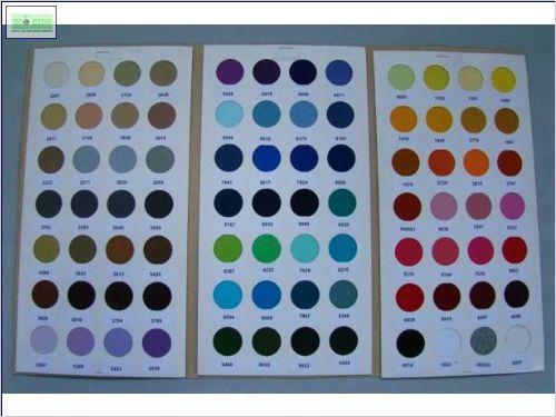 paleta de cores de malha de Pet reciclado
