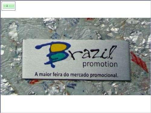 Personalização com Placas de Aluminio Reciclado - Foto: 1