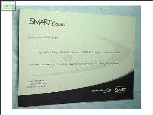 certificado em papel reciclado