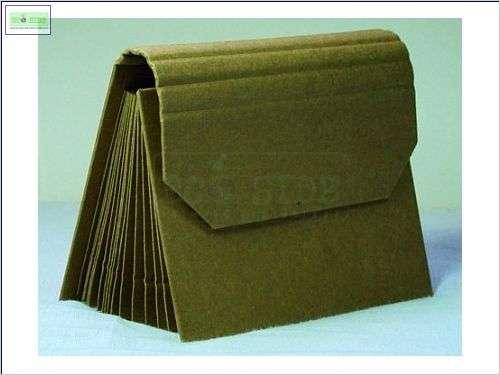 Porta Cartão em Papel Kraft - Foto: 1
