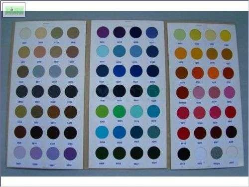 paleta de cores 2008/2009