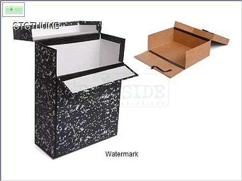 caixa para arquivo em papel kraft