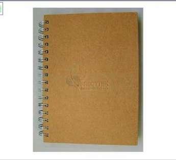 caderno reciclado formato 15x21cm
