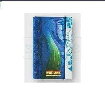 Foto: caderno reciclado formato 15x21cm