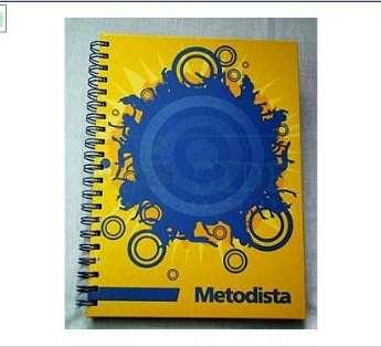 Caderno Capa Dura 20x27 cm