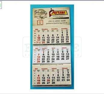 Calendario de Parede