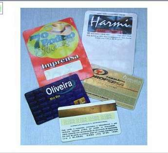 Cartão e Credencial em PVC