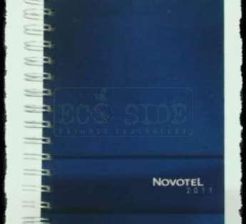 Foto: Agenda reciclada Diaria Modelo Executivo