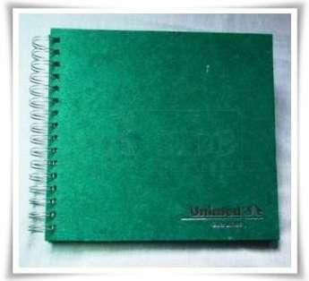 agenda semanal em papel reciclado