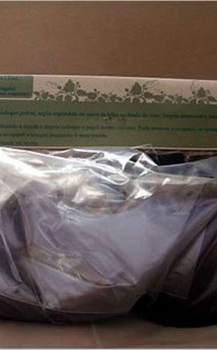 Embalagem do kit verso