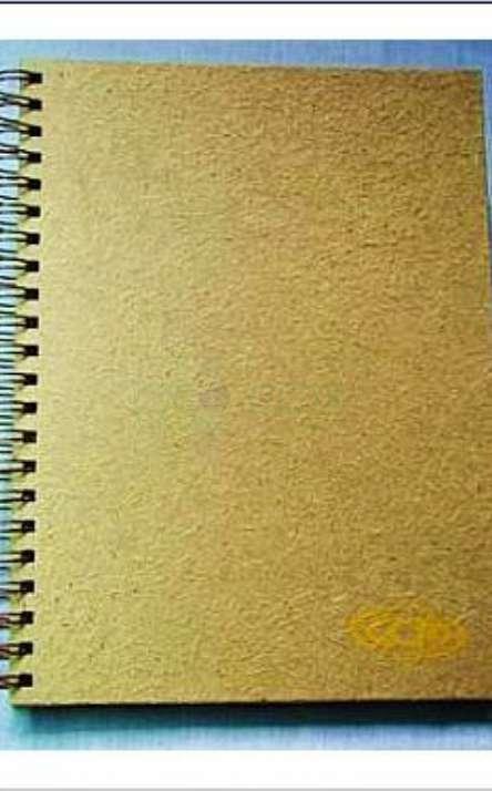 capa em papel de cana de açucar
