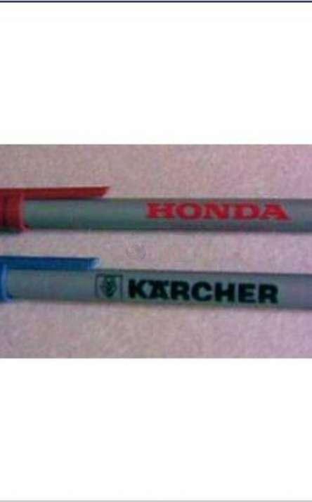 caneta em tetrapack com tampa