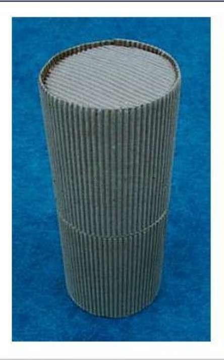 embalagem tubo para Lapis de cor reciclado de galhos de poda de arvore