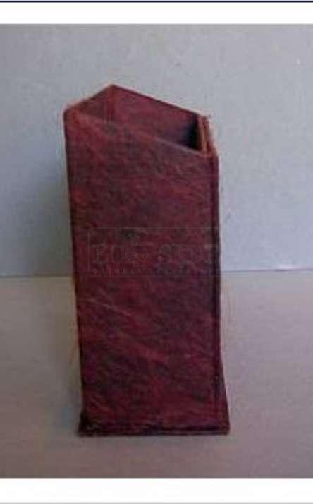 caixa com porta retrato em papel artesanal