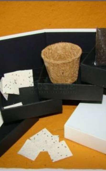 embalagem em papel artesanal