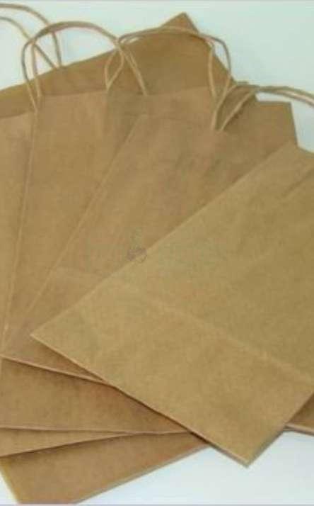 sacola em papel kraft