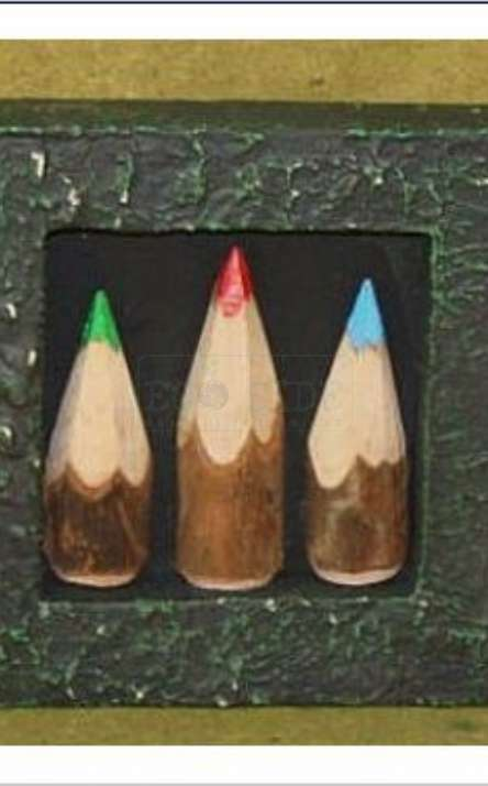 quadrinho com lapis de cor